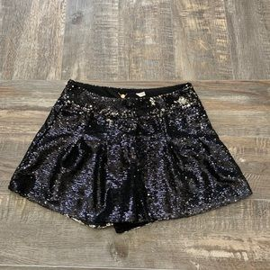 🌻3/20 Gorgeous black sequins shorts like New